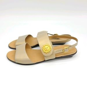 Leather Sandals Golden Sun